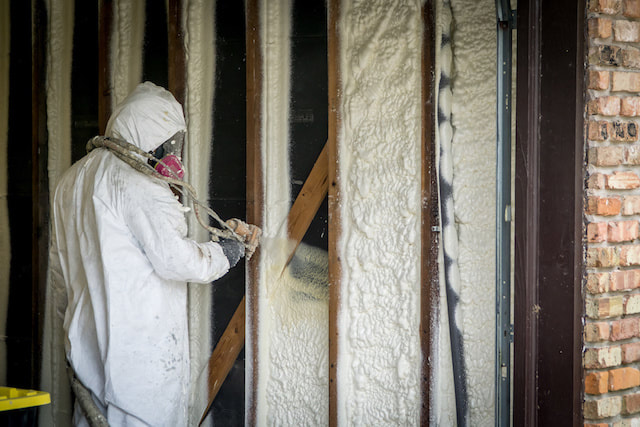 Attic insulation process Colorado