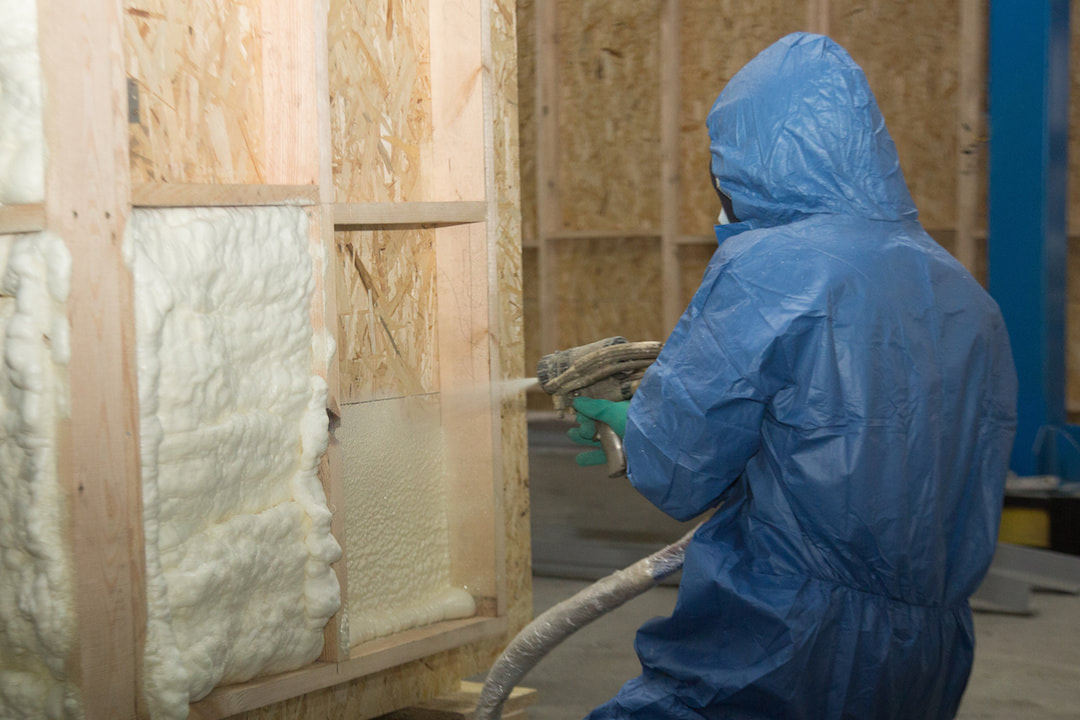 foam insulation tech at work Colorado