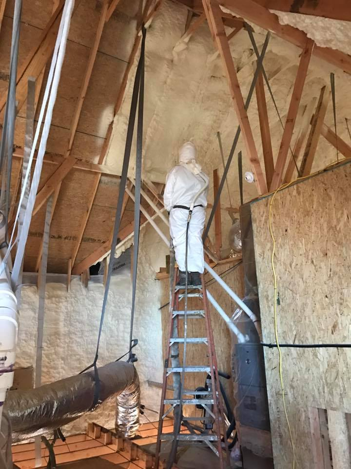Installing Spray Foam Insulation Fort Collins CO