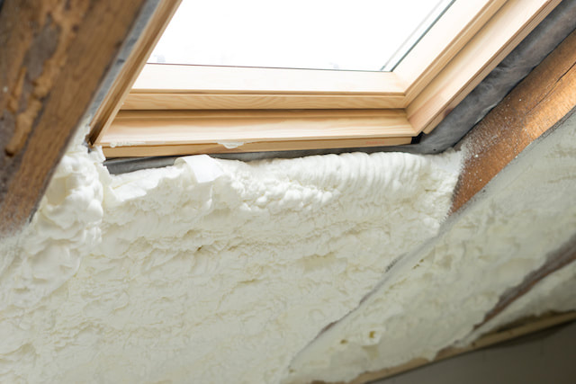 Spray foam insulation Colorado