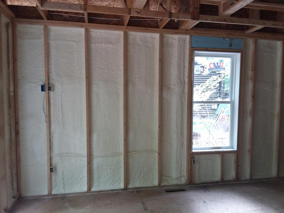 Wall Spray Foam Insulation Boulder CO